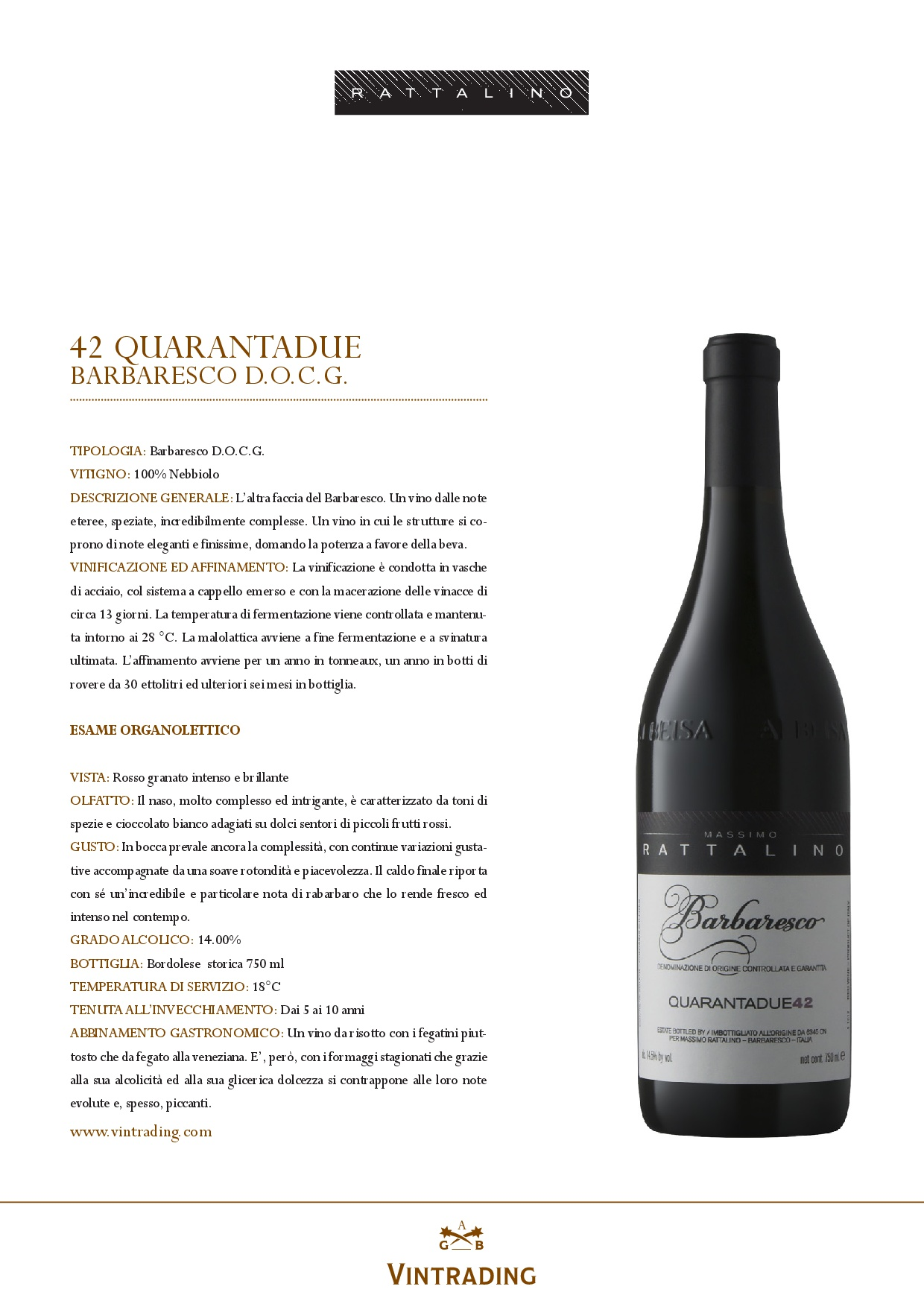 Rattalino barbaresco food drink consulting for Food bar consult